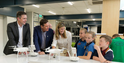 BMA partners with CQ schools to foster technological innovation