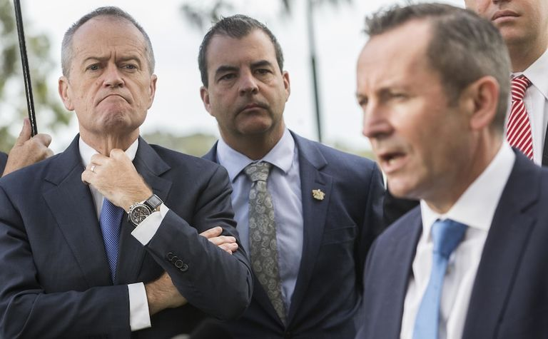 Shorten's project wages pitch