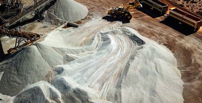 Bald Hill lithium set for Chinese turn