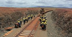 Eliwana mine rail project reaches milestone