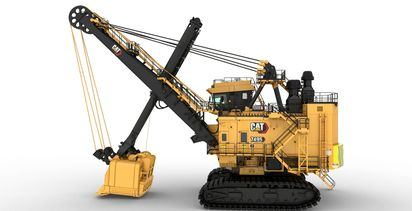 Caterpillar upgrades flagship shovel