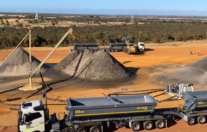 First load from Boonanarring