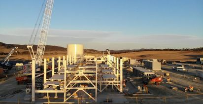 Heron on track for fourth quarter commissioning