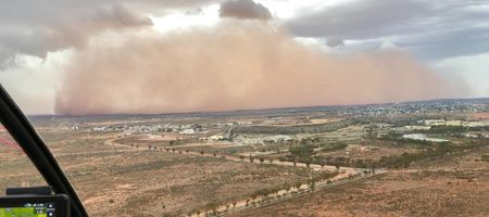 Broken dust monitor costs Broken Hill