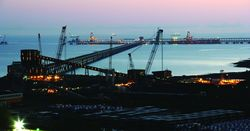 Qld coal exports compensating for weaker agricultural exports