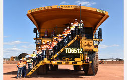 Global milestone for local mine