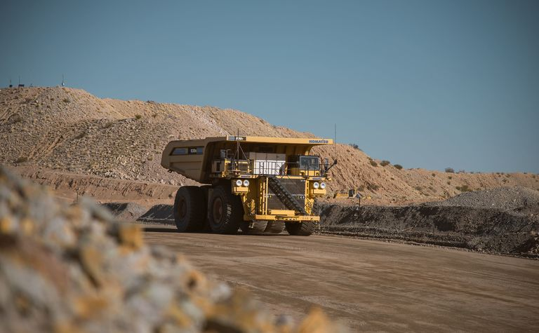 Komatsu lands trucks on BHP iron ore sites
