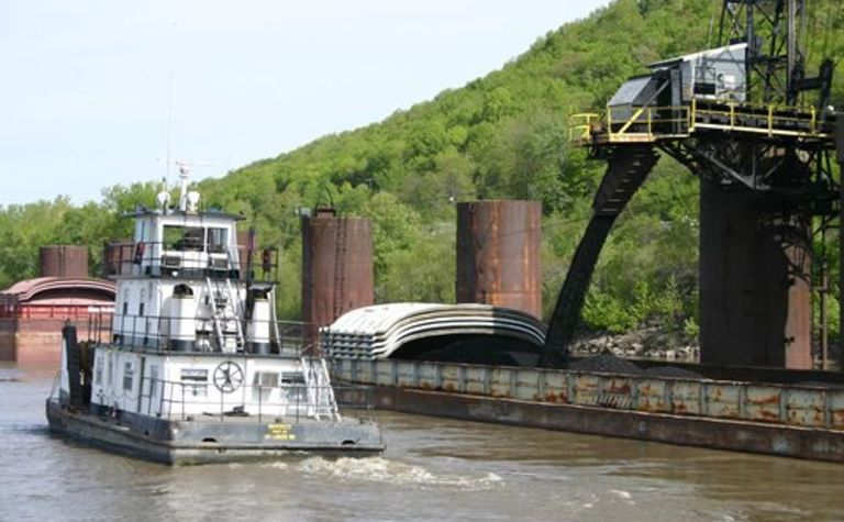 Knight Hawk may be grounded on river issues