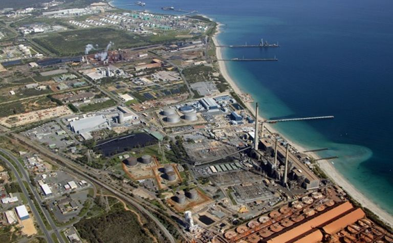 Progress on Kwinana plant