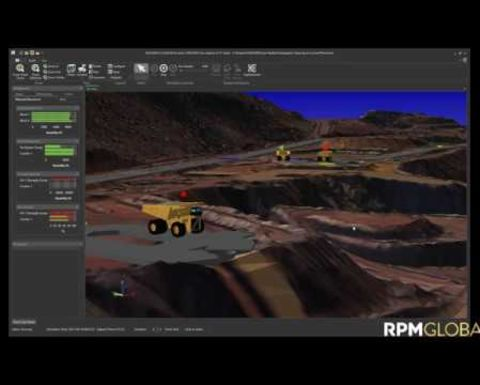 Getting greater mine productivity with 3D user interface