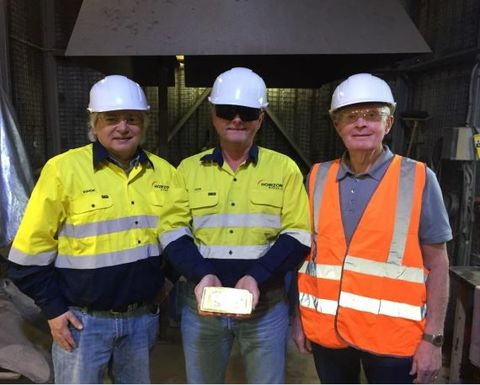 Boorara pours first gold