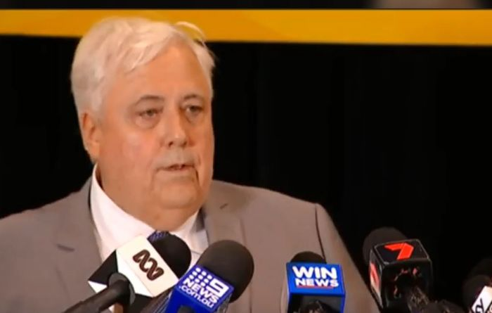 WA has a win over Clive Palmer