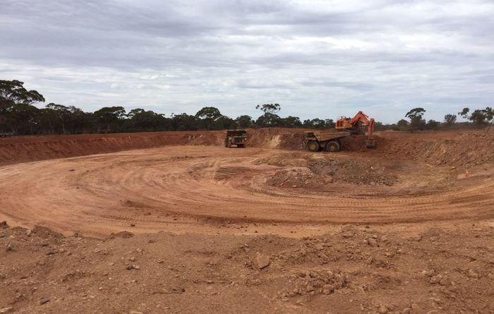 Third open pit for Excelsior