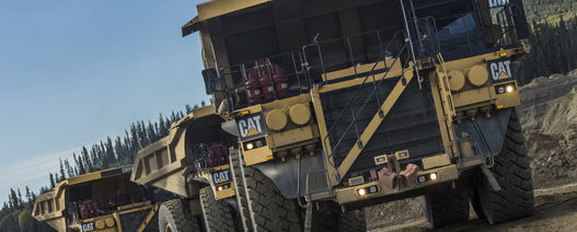 Caterpillar rolls out 5000th 793