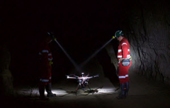 Funding for underground mine drones