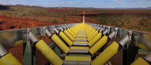 South Flank conveyor a Pilbara first