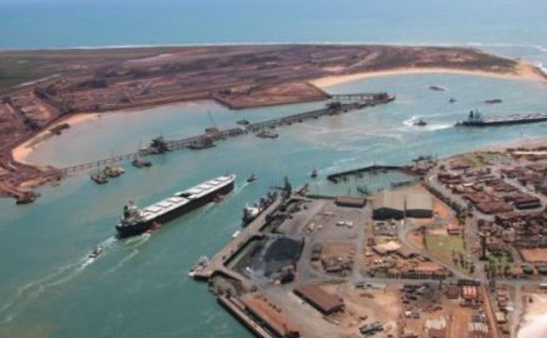 BHP iron ore output down for the quarter