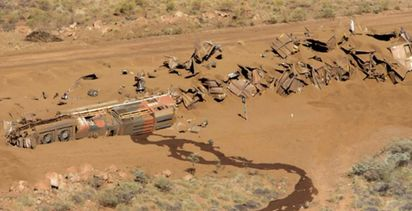 Rio Tinto has three systems to stop runaway trains that BHP does not