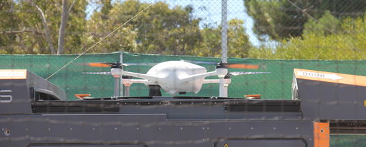 Is it a bird? Is it a plane? No it's an Airobotics drone
