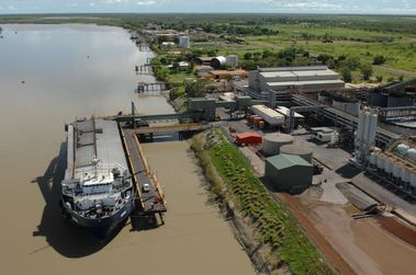 New Century dredges up the port at Karumba