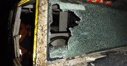 Faulty steering causes underground collision