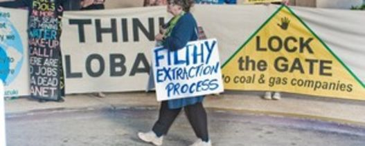 Protestors target NZ mining conference