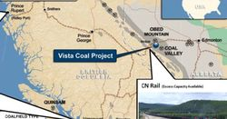 Coalspur upgrades Vista project