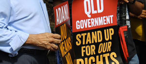 Adani seeks to bankrupt traditional owner leader