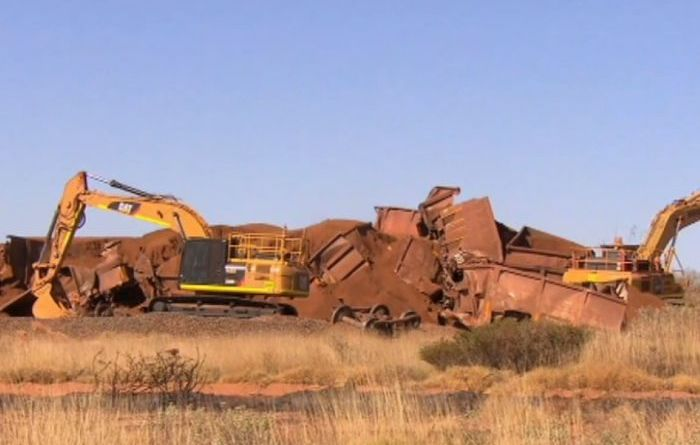 BHP goes off the rails