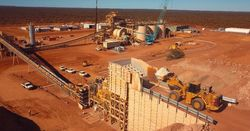 Dalgaranga crushing ore ahead of schedule