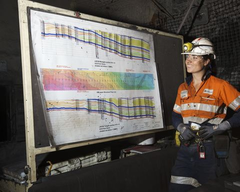 Anglo American re-imagining underground employment