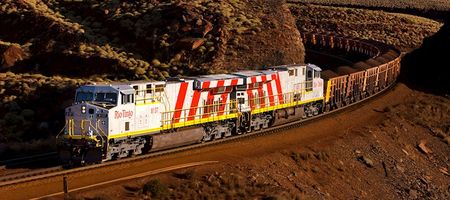 Auto trains progressing at Rio Tinto