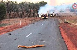 Road train explosion blame game