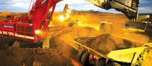 Commodity prices slam services