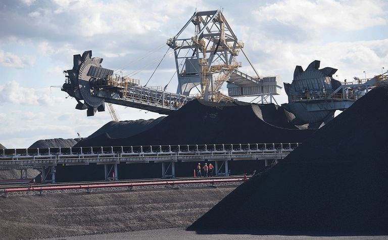 Coal leads the pack in minerals exports in a record year