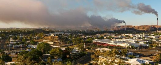 Gas plume closes Mt Isa plant