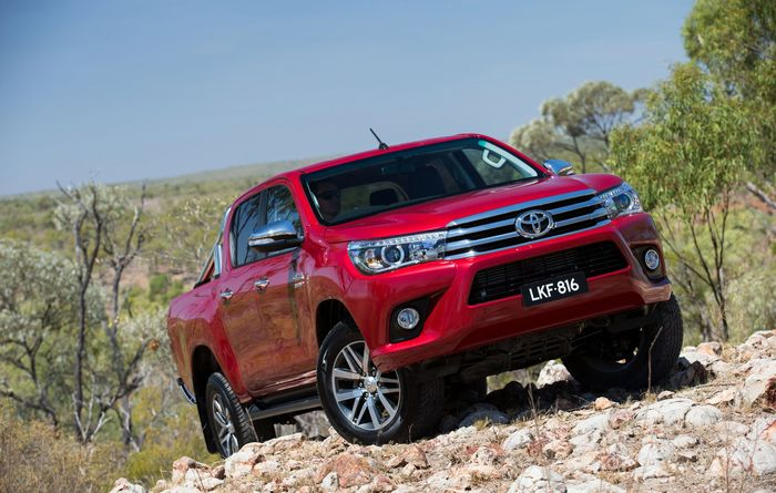 Hilux released