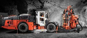 Sandvik adds battery-electric rig