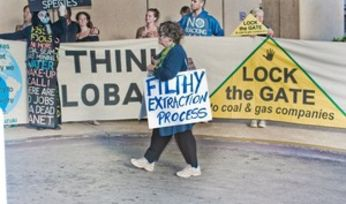 Protestors mobilise against Qld coal projects