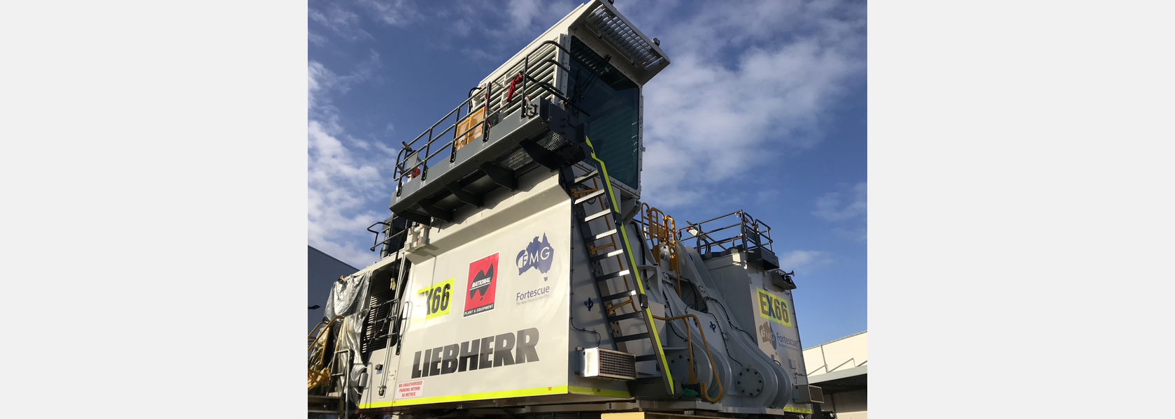 Fortescue Metals Group secure rental of new Liebherr R 996B Excavator