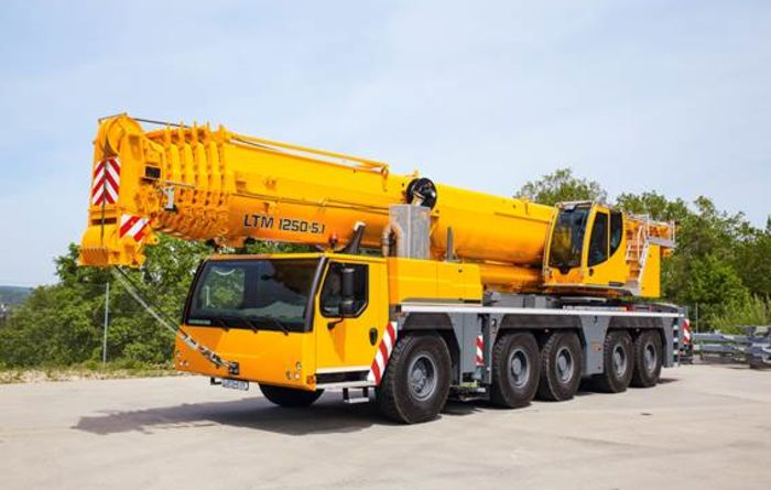 Crane innovations from Liebherr