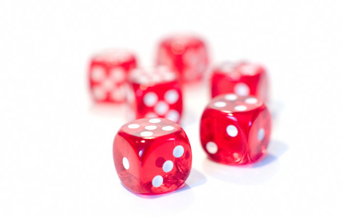 Controlling the roll of the dice