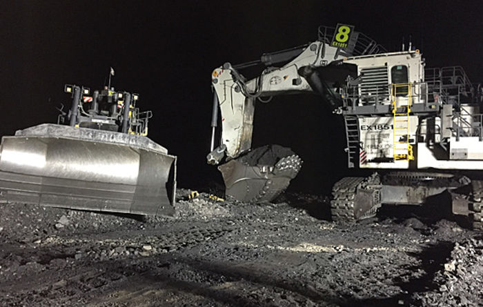 Excavator and dozer collide at NSW mine