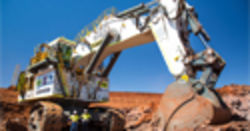 National Plant & Equipment deliver Liebherr R 996B Excavator to Fortescue's Mine