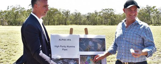 Gladstone to get HPA plant