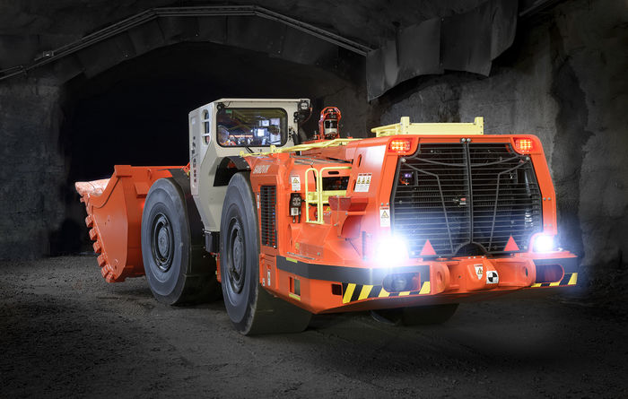 Sandvik introduces Stage V compliant underground loaders