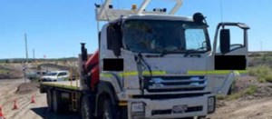 Vehicle pile up at Qld mine
