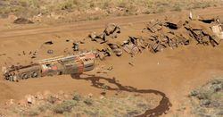 BHP says runaway train work on track