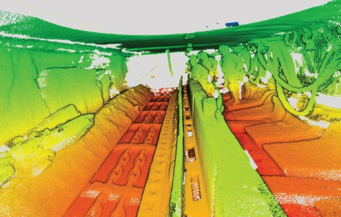 Underground coal laser scanner racking up users