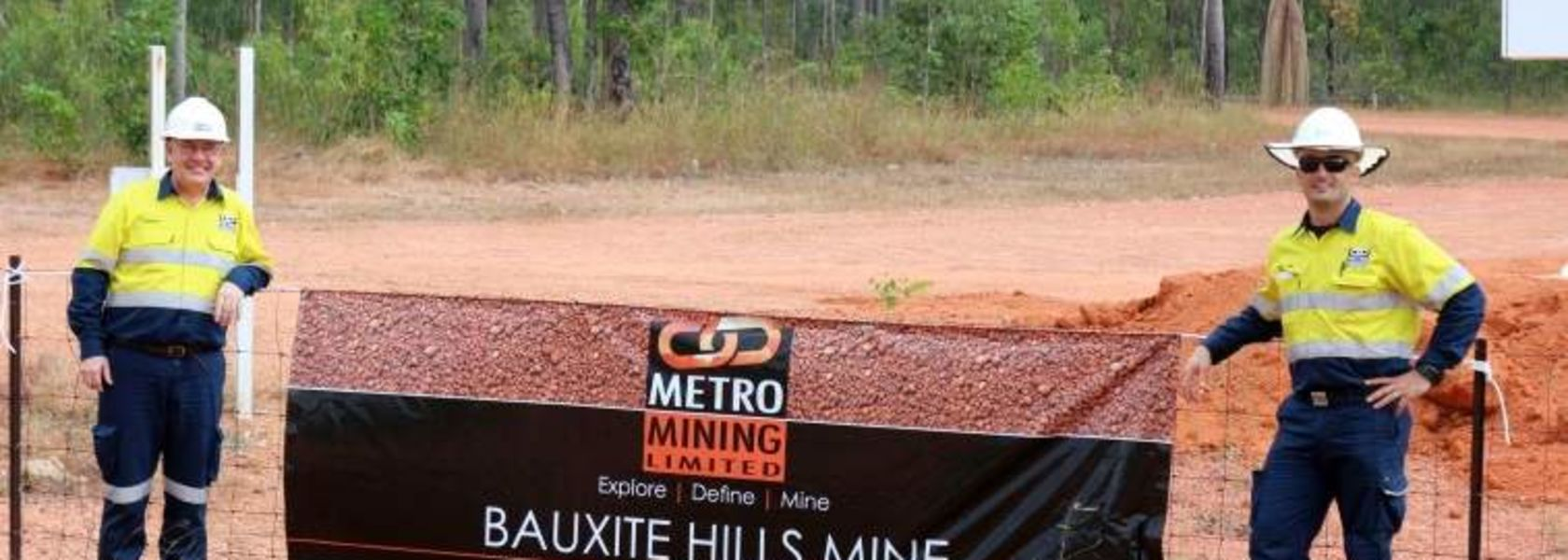 Bauxite Hills back in business